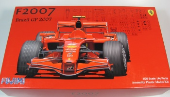 Ferrari F2007 GP Brazil Skeleton Body - Fujimi