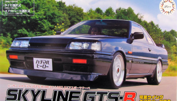 Nissan Skyline GTS-R 1987 Sports Coupe - Fujimi