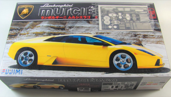 Lamborghini Murcielago + Photo Etches Part - Fujimi