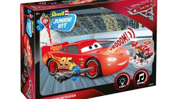 Junior Kit auto 00860 - Cars 3 - Blesk McQueen (1:20) - Revell
