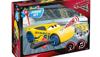 Junior Kit auto 00862 - Cars 3 - Cruz Ramirezová (1:20) - Revell