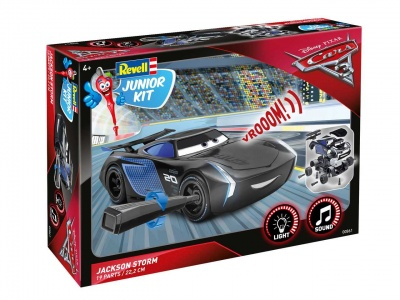 Junior Kit auto 00861 - Cars 3 - Jackson Hrom (1:20) - Revell