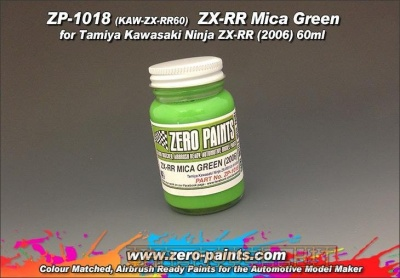 Kawasaki ZX-RR Mica Green 60ml - Zero Paints