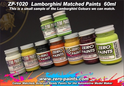 Lamborghini Miura Paint 60ml Rosso Arancio - Zero Paints