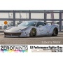 LB Performance Zero Fighter (Combat Style) Grey Paint 60ml (LB?Works Ferrari 458, Lamborghini Aventador, Murciélago ) - Zero Paints