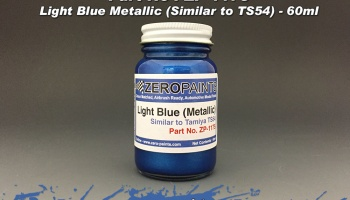 Light Metallic Blue Paint (Similar to TS54) - Zero Paints