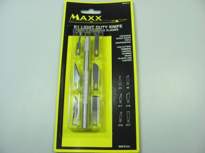 Light Duty Knife + 6 Blades - MAXX