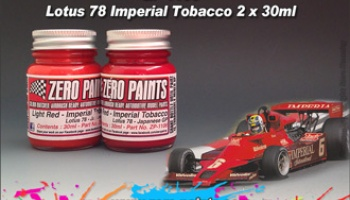 Lotus 78 Imperial Tobacco Paint Set 2x30ml - Zero Paints