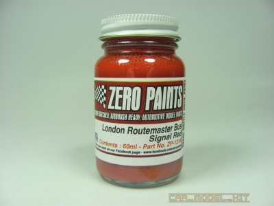London Routemaster Bus Red 60ml - Zero Paints