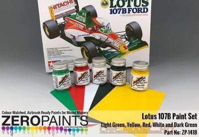 Lotus 107B Paint Set 5x30ml - Zero Paints
