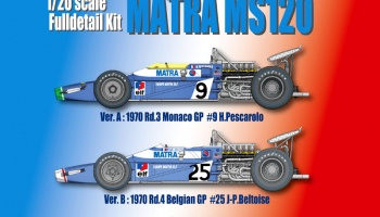 Matra MS120 - Model Factory Hiro