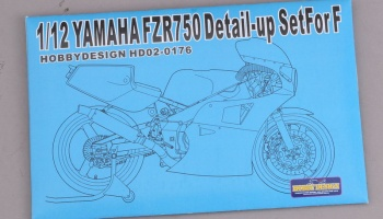 1/12 Yamaha FZR 750   Detail-up Set - Hobby Desing