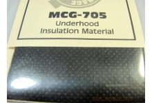 Underhood Insulation Material - Model Car Garage