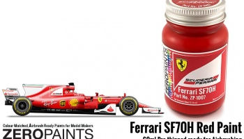 Ferrari SF70H Red - Zero Paints