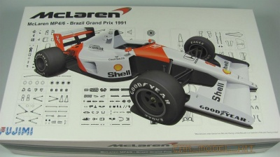 McLaren MP4/6 Brazil GP 1991 - Fujimi