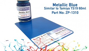 Metallic Blue Paint - Similar to TS19 - Zero Paints