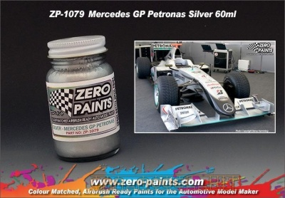 Mercedes GP Petronas Silver - Zero Paints