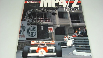 JOE HONDA Racing Pictorial #32: McLaren MP4/2 1984 - Model Factory Hiro