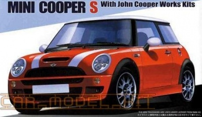 Mini Cooper S With John Cooper Works Kit - Fujimi