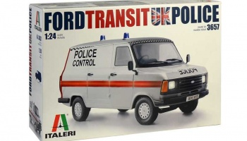 Ford Transit UK Police - Italeri