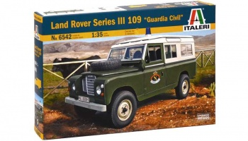 "LAND ROVER III 109 ""Guardia Civil"" - Italeri"