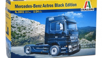 MERCEDES-BENZ ACTROS BLACK EDITION - Italeri