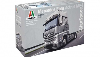 Mercedes Benz Actros MP4 Gigaspace - Italeri