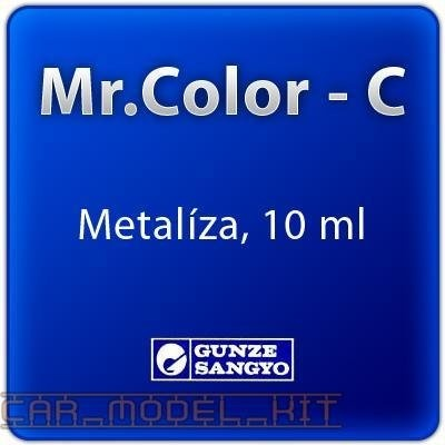 Mr. Color C 077 - Metallic Green - Kovově zelená metalíza - Gunze