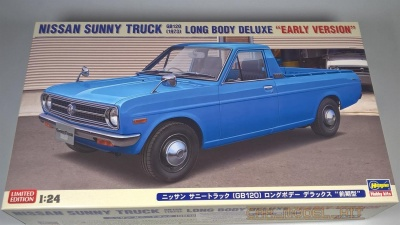 "Nissan Sunny Truck 1973 (GB120) Long Body DX ""Early Version"" - Hasegawa"