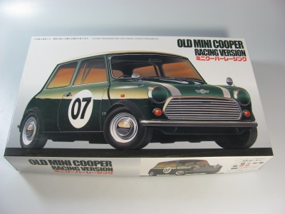 Old Mini Cooper Racing Version - Fujimi