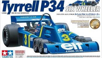 Tyrrell P34 w/Photo-Etched Parts 1/12 - Tamiya - Pre-order
