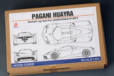 Pagani Huayra Detail-UP Set For Aoshima - Hobby Design