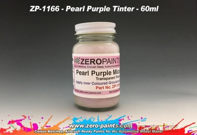 Pearl Purple Mica Transparent Tinter - Zero Paints