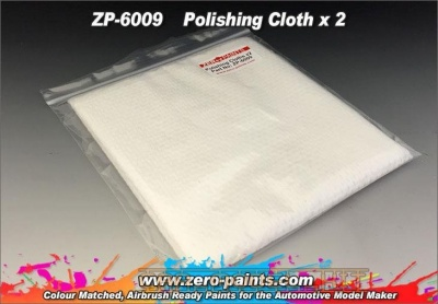 Polishing Cloth x 2 - Zero Paints