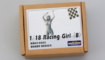 Racing Girl B - Hobby Design