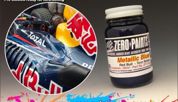 Red Bull (RB6) Torro Rosso Metallic Blue - Zero Paints