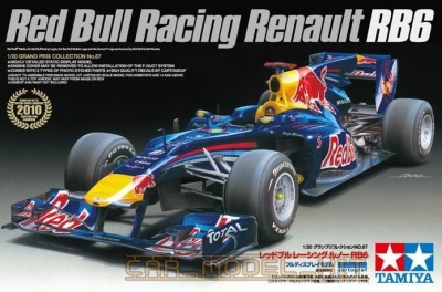 Red Bull Racing Renault RB6 - Tamiya
