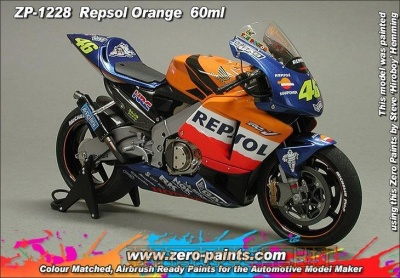 Repsol Orange (60ml) - Zero Paints