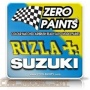 Rizla/Suzuki Pearl Blue (2x30ml) - Zero Paints