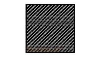 Comp. Carbon Fiber Decal Twill Weave Black on Silver 1:20 - Scale Motorsport