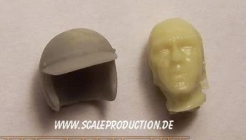 "Racecar Driver head ""Mc Steve"" - SCALE PRODUCTION"