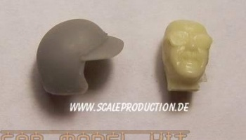 "Racecar Driver head ""The Racer"" - SCALE PRODUCTION"