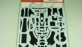 Carbon decal for YZR-M1 (2005) - Studio27