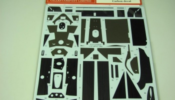 MP4/2 1984 Carbon Decal for Aoshima - Studio27