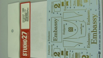 Lotus 72D Embassy South African Championship 1975 - Studio27