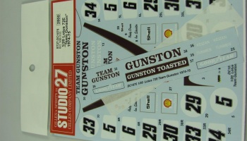 Lotus 72E Team Gunston 1974-75 - Studio27