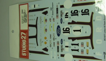Lotus 49 Team Gunston RSA 1968-69 - Studio27