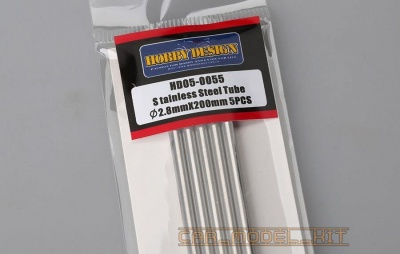 Stainless Steel Tube 2.8mm*200mm - Hobby Design