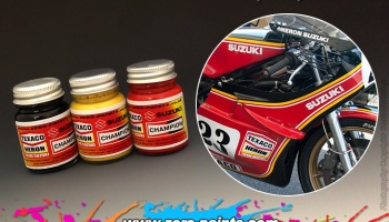 Suzuki RGB500 Paint Set (1979) 3x30ml - Zero Paints