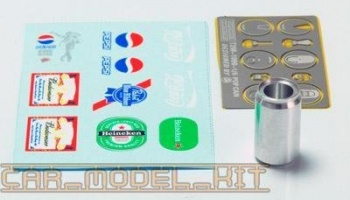 POP CAN 1/6 machined parts+decal+film backed PE) - T2M